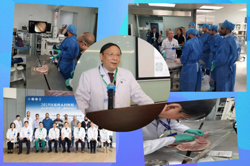 Endoscopic training, we do wholeheartedly ------2019 International Exchange Week of Jiangsu Provincial People's Hospital